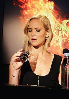 "Jennifer Lawrence, Jennifer Lawrence at ""The Hunger Games: Mockingjay..."