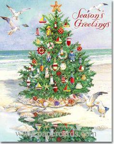 14 best nautical christmas cards images on Pinterest | Nautical ...