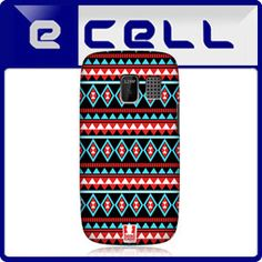 Head Case Red and Blue Aztec Pattern Snap on Back Case Cover for Nokia Asha 302 | eBay