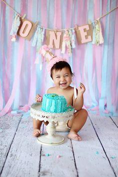 Cake Smash 1st Birthday Autumn Moore Photography