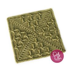 "Where or When - free 9"" crochet square pattern by Polly Plum. Stardust Melodies Crochet Along at Every Trick on the Hook."