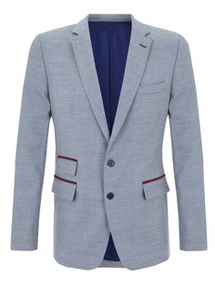 Farfallino. Grey blazer.  #Fashion #Men #Blazer