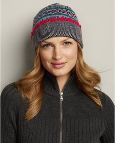 8cd16c5ebc9 Eddie Bauer Women s Cable Knit Hat