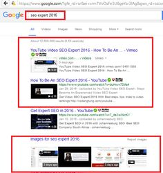 SEO Expert 2016 - update YouTube Video SEO Expert 2016 - How to be an SEO Expert 2016. The real ranking on Google.com