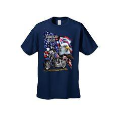 USA Flag American Pride Motorcycle Tee