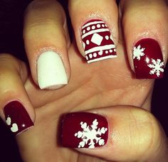 Awesome+Christmas+Nail+Designs