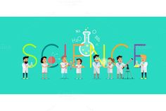 Science Concept. Human Icons. $5.00