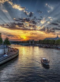 Seine River - Paris, France