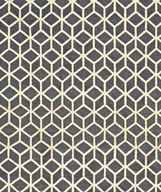 Open Geometric  Man-cave appropriate: Its tight, graphic pattern is handsome without feeling gloomy.    To buy: Facet wool-cotton flat weave, $350 (5 by 8 feet), dwellstudio.com.
