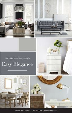 Easy Elegant style Interior Design, Take our quiz to discover your Interior Design Style and receive a complimentary style guide to help you bring your style to life Interior Design Atlanta, Interior Design Guide, Interior Design Presentation, Interior Decorating Tips, Modern Interior Design, Interior Design Kitchen, Interior Styling, Interior Paint, Luxury Interior