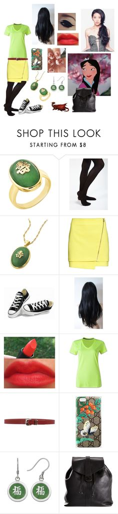 """""""'The flower that blooms in adversity is the rarest and most beautiful of all."""""""" by ticcitobydreams ❤ liked on Polyvore featuring Disney, Giani, H&M, Converse, NIKE, Orciani, Gucci and Chanel"""