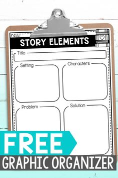 Students can practice retelling stories with these FREE printable graphic organizers. They can use the reading graphic organizer as a way to practice a 5 finger retell during independent reading or guided reading groups. The writing graphic organizer helps students plan out the story elements when creating their own story during writng workshop. Small Group Reading, Guided Reading Groups, Story Elements Activities, Writing Graphic Organizers, Free Stories, Character And Setting, Independent Reading, Comprehension Strategies, Mentor Texts
