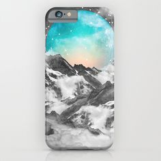 It+Seemed+To+Chase+the+Darkness+Away+(Guardian+Moon)+iPhone+&+iPod+Case+by+Soaring+Anchor+Designs++-+$35.00