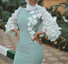 Hijab Evening Dress, Hijab Dress Party, Hijab Style Dress, Modest Fashion Hijab, Hijab Wedding Dresses, Muslim Fashion, Women's Fashion Dresses, Skirt Fashion, Evening Dresses