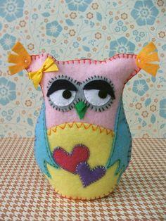 cute Girlie Owl...