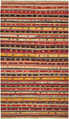 "Anatolian Kilim 5'5""x9'3"": - ABC Carpet & Home"