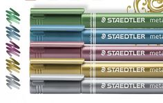 Win Staedtler Metallic Pens with PaperCrafter!