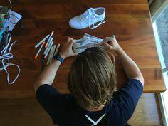 In the process of designing custom vans old skool shoes