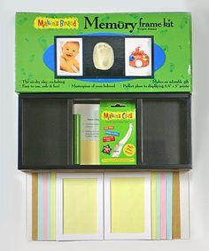 Look at this #zulilyfind! Triple Frame Memory Kit by Makin's Clay #zulilyfinds
