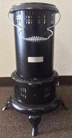 Antique / Vintage Black BOSS No. 8 Perfection Style Kerosene Oil Heater / Stove #AmericanStoveCompany