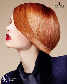 #EssentialLooks   short hair cuts   women hair styles   copper