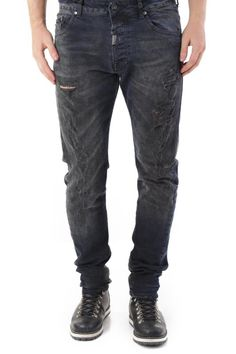 Jeans Uomo Absolut Joy (VI-P2545) colore Blu Scuro