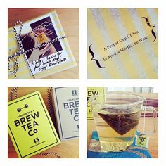 Sally received a lil' surprise in the post! #brewtime | Brew Tea Company