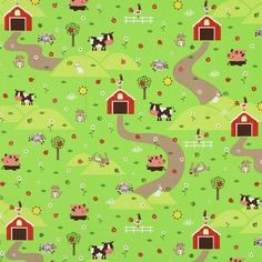 Furnishing Fabric Little Dog & Farm - Designer decor fabricsfavorable buying at our shop