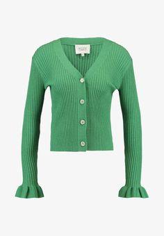 Medium Green Punto De Mariella Verano Cardigan Chaqueta 8xqPw4wFS