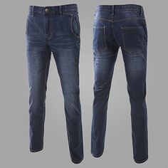 Slim Fit Dark Wash Jeans . Shop Now At  http://sneakoutfitters.com/collections/new-in/products/ao-cscs-yw-k13-so73