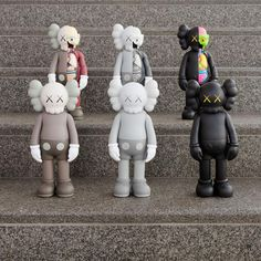 """AVAILABLE TODAY: KAWS's """"Companion"""" & """"Dissected Companion"""" in 6 editions!"""