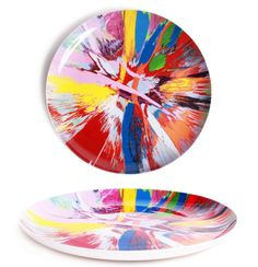 Damien Hirst Spin Plates.