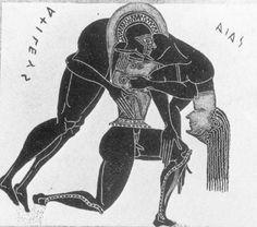 Ajax carrying dead Achilles
