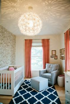 Betthimmel - Ein Traumhaftes Schlafzimmer Design Erschaffen ... Babyzimmer Orange Grn