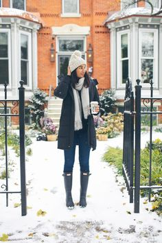 Winter Style // Cozy winter look idea.