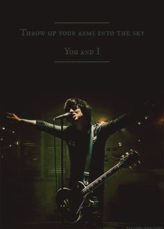 MOM!!!!, That one year where we were OBSESSED with Green Day's 21 Guns song!!!!. You member?