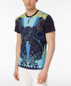 VERSACE Versace Men S Graphic-Print Cotton T-Shirt.  versace  cloth   26bd7d88bd55