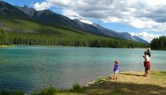 The smaller and more intimate of the two campgrounds, Two Jack Lakeside Campground across the road is a small (77) site campground near Banff,…