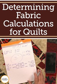 How much of each color of fabric is needed to complete a design is generally given when you are working off of a purchased pattern. However, when designing your own quilt it can be difficult to know how much you will need. Heather Thomas shows you how to do basic fabric calculations to determine how much of each color or print of fabric you will need.