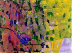 Gerhard Richter: watercolors on paper