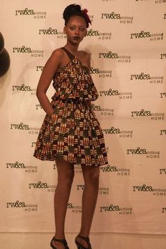 Model Flora in RWANDA CLOTHING