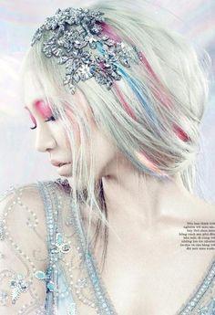 prettyperfectpink:  Soo Joo by Yulia Gorbachenko for ELLE Vietnam October 2013
