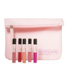 Look at this Manna Kadar Cosmetics Manna Mini Collection Lip Gloss Set on #zulily today!