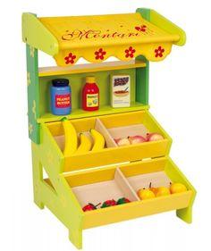 PEQUEÑA TIENDA INFANTIL O PUESTO DE VENTA AMBULANTE DE MADERA. REF BERLÍN_121564 , Juguetes online, Feber, Injusa, maquetas, puzzles y juguetes de madera