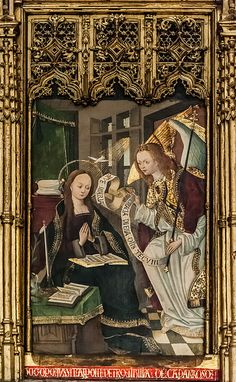 1507 | Desconhecido | Retábulo de S. Tomás ou Retábulo de Caparroso | Catedral Santa Maria de Pamplona