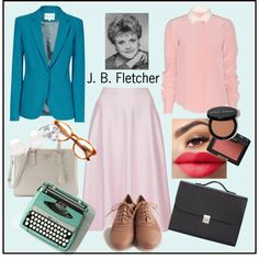"""Jessica B. Fletcher"" by shescountry9 on Polyvore"