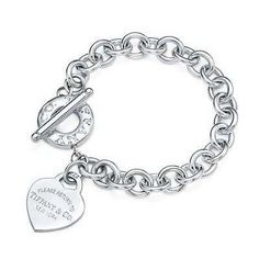 8cc768a1fc70 Tiffany   Co. - Return to Tiffany® heart tag toggle bracelet in sterling  silver