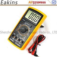 """Voltage Capacitance Resistance Digital Mult Excel DT9205A 2.8/"""" LCD Current"""