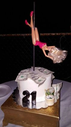 Stripper Cake 21st Birthday For Guys Funny Cakes Bday Ideas
