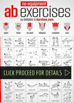 Bodyweight exercises always recruit more than one muscle group for each exercise so it is impossible to isolate and work one muscle group specifically by doing one type of exercise. It is however possible to increase the load targeting specific muscle groups with specific exercises so that they respond the most to the challenge. The …